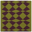 rug #297773 | square purple check rug