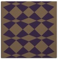 rug #297777 | square mid-brown check rug