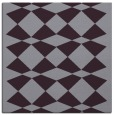 rug #297781 | square purple check rug