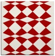 rug #297785 | square red check rug