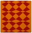 rug #297789 | square red check rug