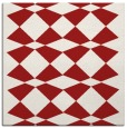 rug #297793 | square red check rug