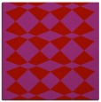 rug #297797 | square red check rug