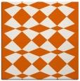 rug #297813 | square red-orange check rug