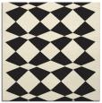 rug #297853 | square black check rug