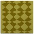 rug #297865 | square light-green check rug