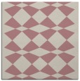rug #297885   square pink check rug