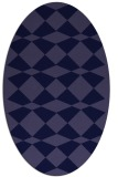rug #297981 | oval graphic rug