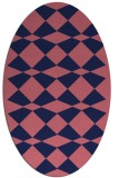 rug #297989 | oval graphic rug