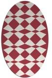 rug #298112   oval check rug