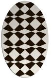 rug #298194   oval check rug