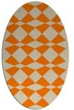 rug #298214 | oval check rug