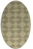 rug #298224   oval check rug