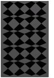 rug #298257 |  black check rug