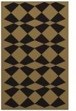 rug #298269 |  mid-brown check rug