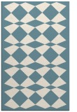 rug #298273 |  blue-green check rug