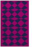 rug #298277 |  blue check rug