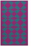 rug #298313 |  pink check rug