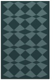 rug #298321    blue-green check rug
