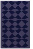 rug #298333 |  blue-violet check rug