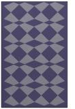 rug #298337 |  blue-violet check rug
