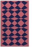 rug #298341 |  blue-violet check rug