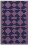 rug #298345 |  purple retro rug