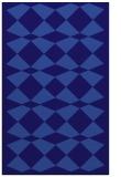 rug #298353 |  blue-violet check rug