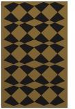 rug #298365 |  mid-brown check rug