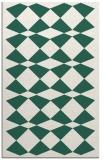 rug #298381 |  blue-green check rug