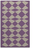 rug #298429 |  purple check rug