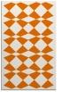 rug #298441 |  orange check rug