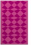 rug #298457 |  pink check rug