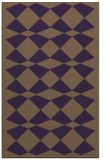 rug #298481 |  purple check rug