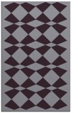 rug #298485 |  purple check rug