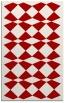 rug #298489 |  red check rug