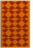 rug #298505 |  red-orange check rug