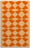 rug #298509 |  red-orange check rug
