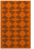 rug #298513 |  red-orange check rug
