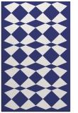 rug #298529 |  blue check rug