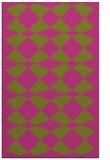 rug #298577 |  light-green check rug
