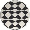 rug #298607   round check rug