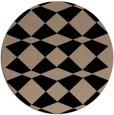 rug #298613   round black popular rug