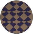 rug #298709   round beige check rug