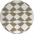 rug #298741 | round check rug