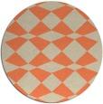 rug #298797 | round beige rug