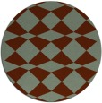 rug #298804 | round check rug