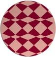 rug #298819 | round check rug