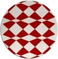rug #298841 | round check rug