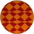 rug #298845 | round check rug